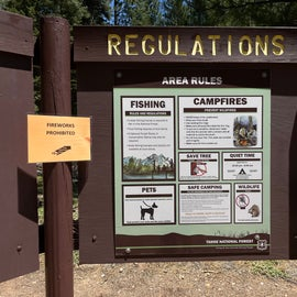 Campground Rules #3