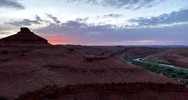 Dispersed Mexican Hat Camping