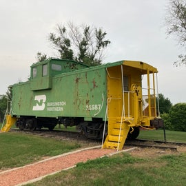 cool train that you can actually go into