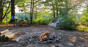 Hovey Lake Campsites
