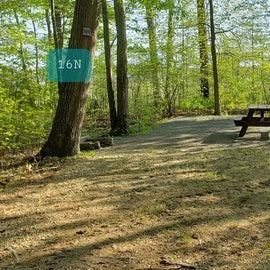 Tidewater Campground Site 16N