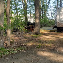 Tidewater Campground Site 95H