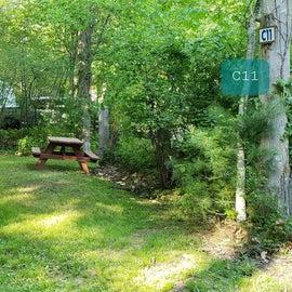 Tidewater Campground Site C11