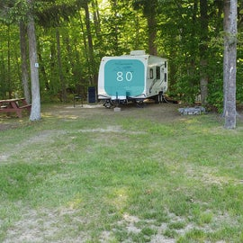 Tidewater Campground Site 80