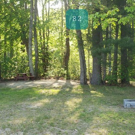 Tidewater Campground Site 82