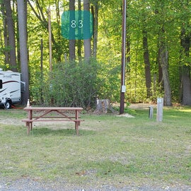 Tidewater Campground Site 83
