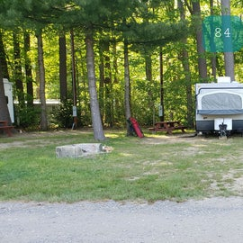 Tidewater Campground Site 84