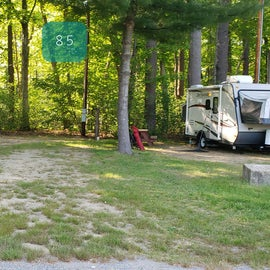 Tidewater Campground Site 85