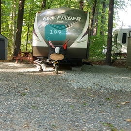 Tidewater Campground Site 109