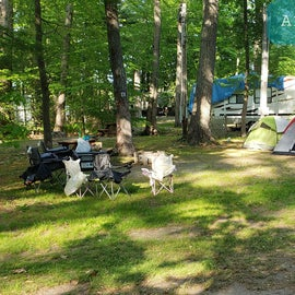 Tidewater Campground Site A1
