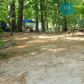 Tidewater Campground Site C2