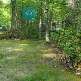 Tidewater Campground Site C9