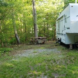 Tidewater Campground Site 95E