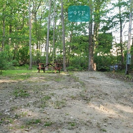 Tidewater Campground Site 95F