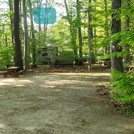 Tidewater Campground Site 16F