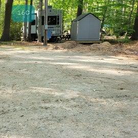 Tidewater Campground Site 16G