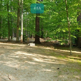Tidewater Campground Site 48