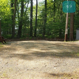 Tidewater Campground Site 49