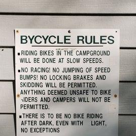 biking rules