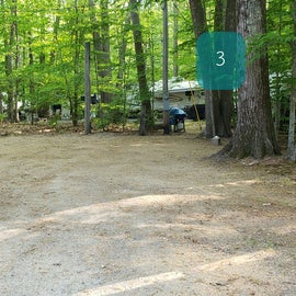 Tidewater Campground Site 3