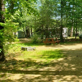 Tidewater Campground Site 10