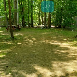Tidewater Campground Site 13
