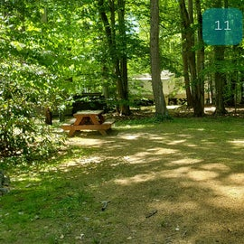 Tidewater Campground Site 11