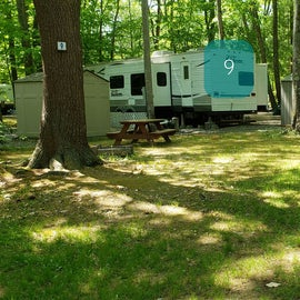 Tidewater Campground Site 9