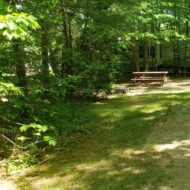 Tidewater Campground Site 8