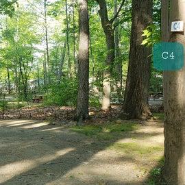 Tidewater Campground Site C4