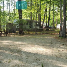 Tidewater Campground Site 16D