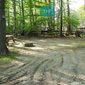 Tidewater Campground Site 16E