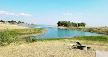 hilltop overlook campgroud- fort peck lake
