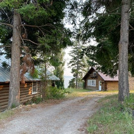 Lodge and cabins for tribal events