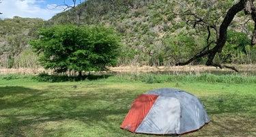 North Area Primitive Site - Colorado Bend State Park