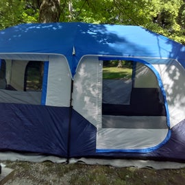 our home for the weekend.