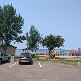 Showers and toilets, Picnic Shelters and Playground in Kreher Park