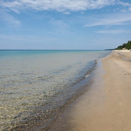 12 mile beach-- easily accessible from the campground