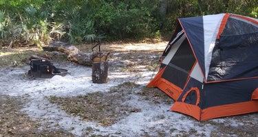 Alderman's Ford Conservation Park Primitive Campground