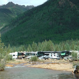 Full campground, but plenty of privacy