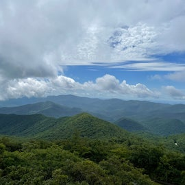 Brasstown Bald (about 20 minute drive from campground)