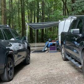 Large campsite