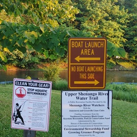 We saw plenty of folks fishing by the dam and we also saw information about non-motor boating.  We didn't see any rental places so make sure you have your own gear.
