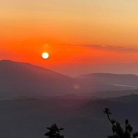 No filter sunset!