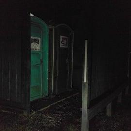 Porta Johns for bathrooms
