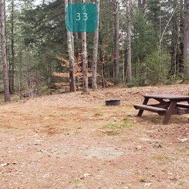 Lake Dennison Site 33