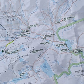 map section of area