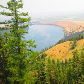 Wallowa Lake from the Tram