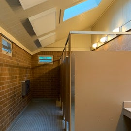 bathrooms were clean and properly ventilated