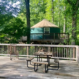 yurt available for rent
